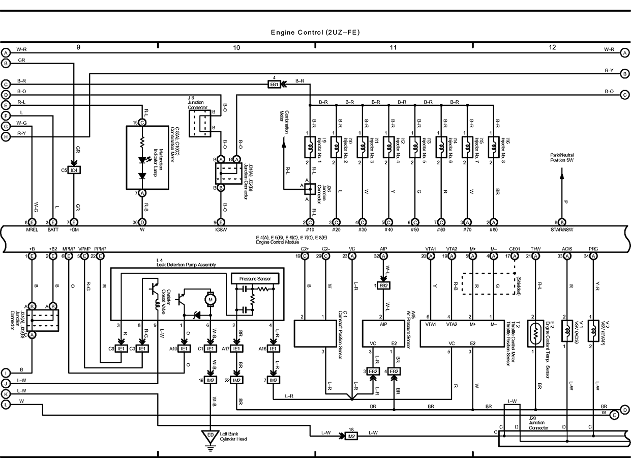 Toyota Camshaft Sensor Wiring Library 2005 Sequoia Diagram I Put A Timing Belt In 4runner 47 Yesterday And Graphic