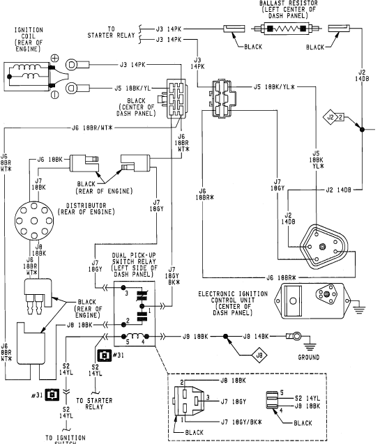 1987 dodge wiring diagram all wiring diagram 1981 GMC Truck Electrical Diagram