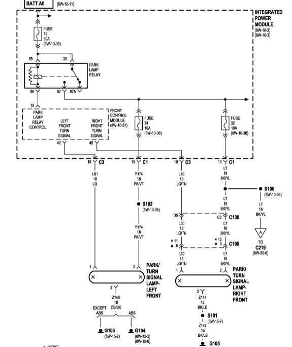 2003 Dodge Ram Wiring Diagram Lights - Schematics Online on