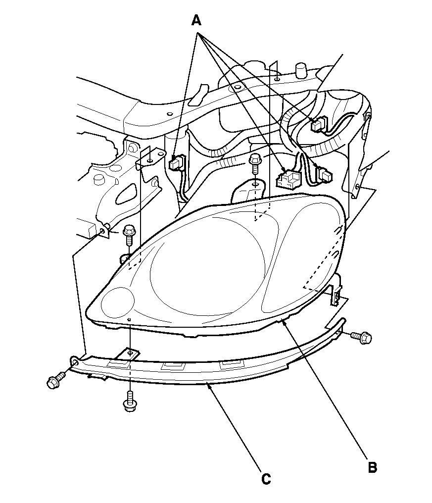 my 2000 honda insight headlight assembly has moisture in it how do 2009 CR-V Headlight graphic graphic
