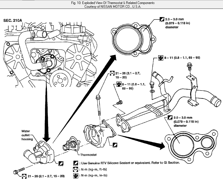2002 nissan quest engine diagram