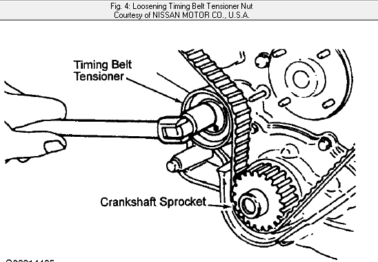 how do i change a timing belt in my 2000 nissan frontier