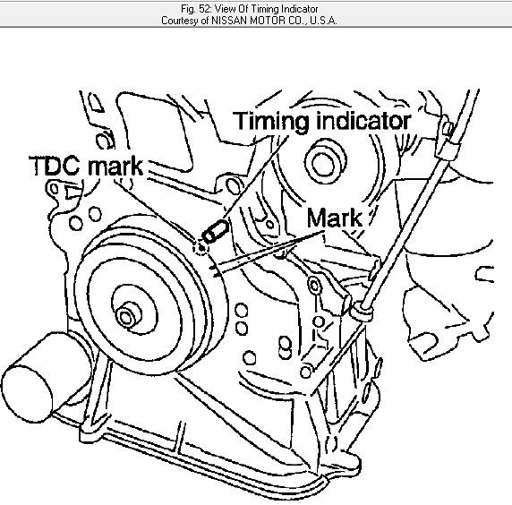 2008 Nissan Altima Camshaft: Where Is The For The Exhaust Cam And The Intake Cam In
