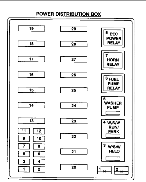 02 f250 fuse panel diagram  02  free engine image for user