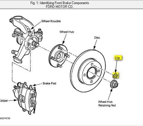 Replacing The Front Rotors On A 2003 Ford Focus Is There Just A
