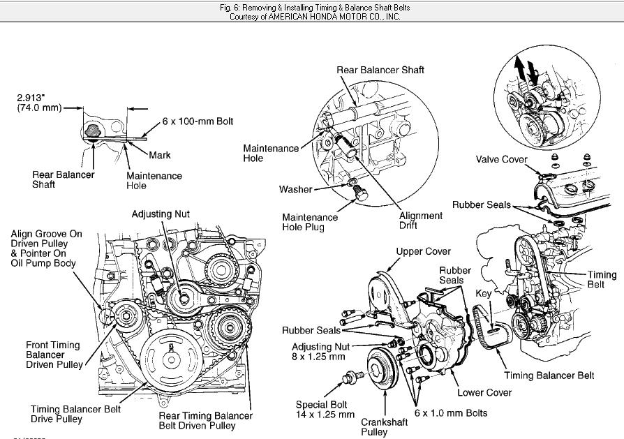 how do i replace a crankshaft sensor on a 1996 honda