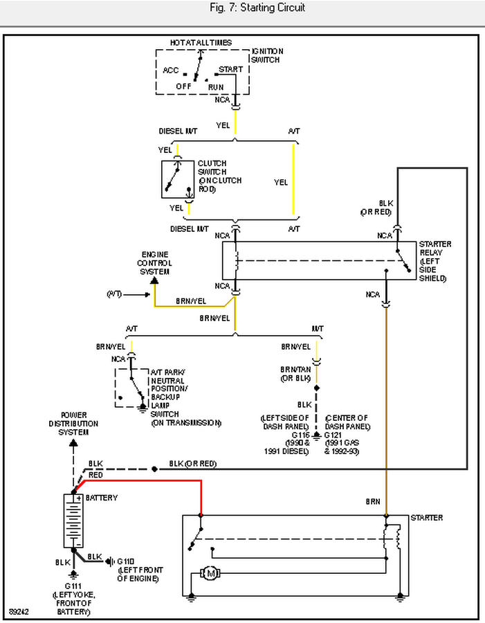 I Am Looking For The Wiring Diagram For A 1991 Dodge