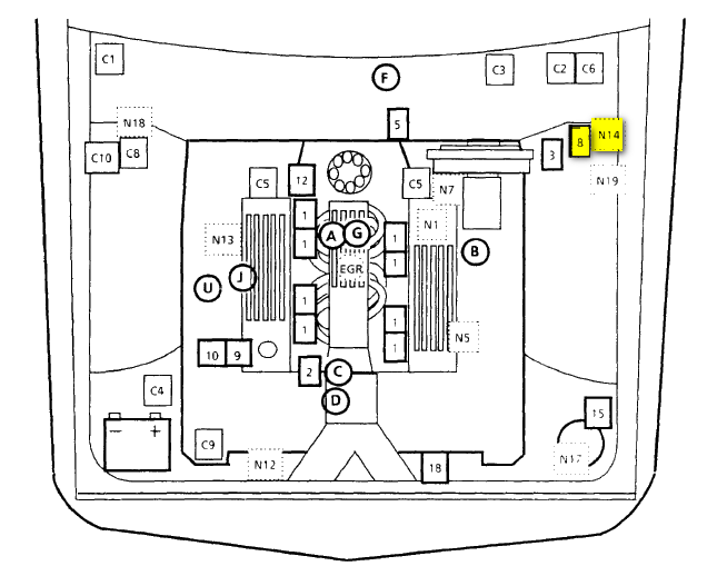 having trouble with cooling fan not working. can you tell ... northern electric radiator fan wiring diagram