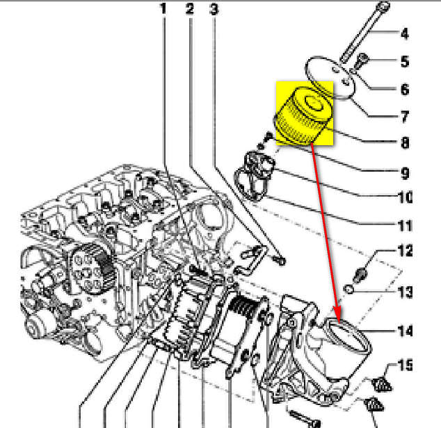 Where Is The Oil Filter Located On A 2004 Audi A8l