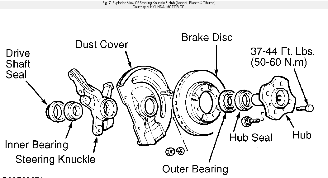 2000 hyundai elantra rear brake diagram within hyundai
