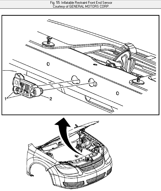 how do i remove and replace driver side air bag on a 06 cobalt and Diagram 2005 Chevy Cobalt Door graphic