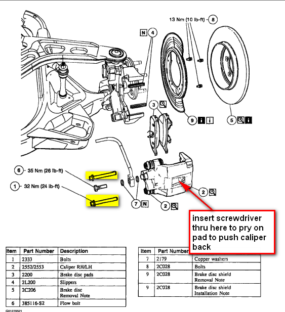 I Am Replacing My Rear Rotors On My 2003 Ford Explorer 4