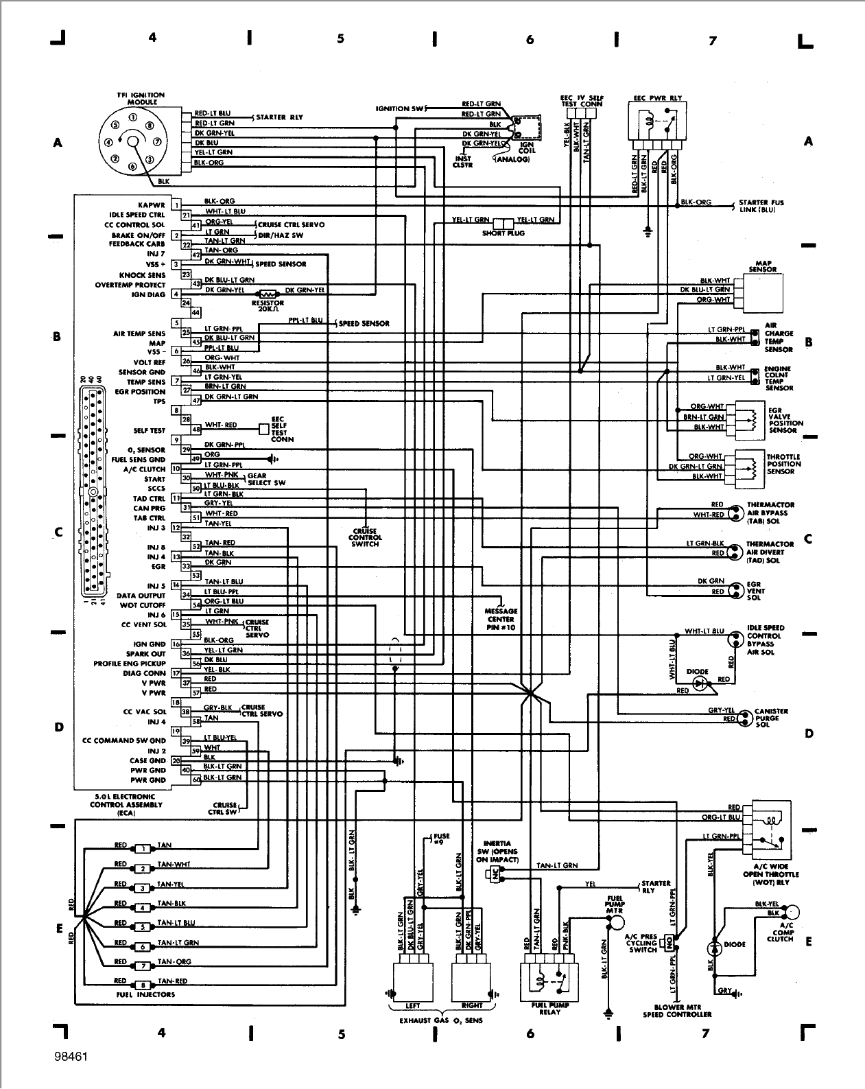 lincoln town car wiring diagram page 100 1