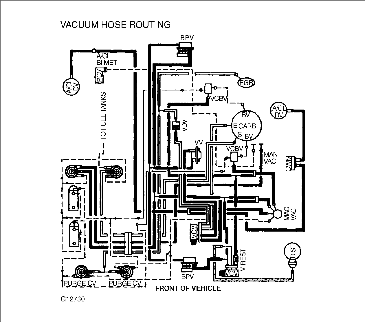 Where Can I Find A  U0026quot Vacuum Schematic U0026quot For A 1987 E350 Van