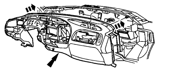 how do i remove the heater core in a 2000 ford expedition  is their a way without removing the