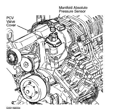 location of pcv valve 2002 lesabre 3 8 engine2002 buick lesabre engine  diagram #9
