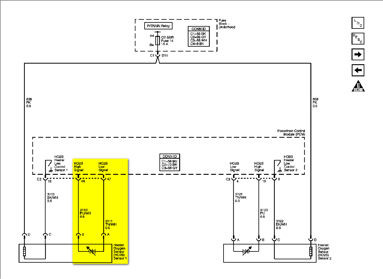 Im Installing A Jet Performance Pcm And I Need To Connect Its Purple O2 Sensor Wiring Diagram Ho2 Connector View
