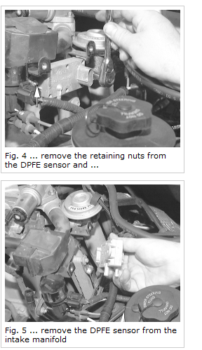 What is the expense to replace DPFE sensor and clean egr
