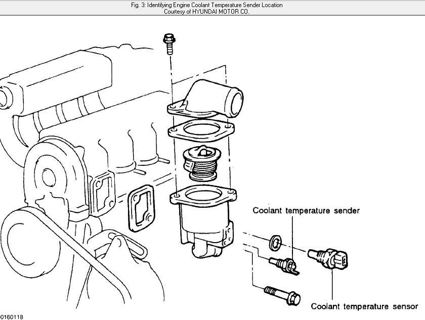 how do i change the coolant temp sensor on a 98 hyundai