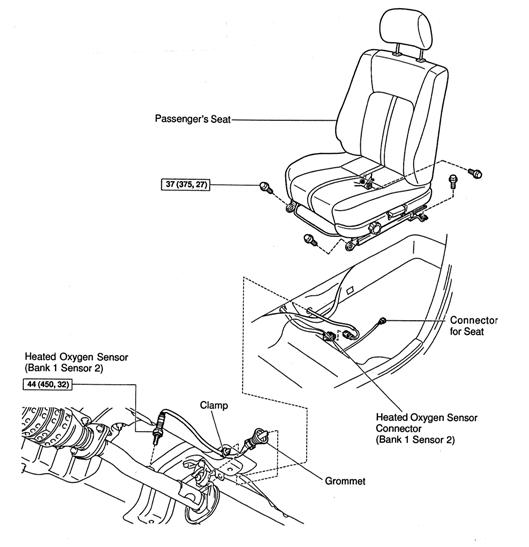toyota 4runner oxygen sensors diagram html
