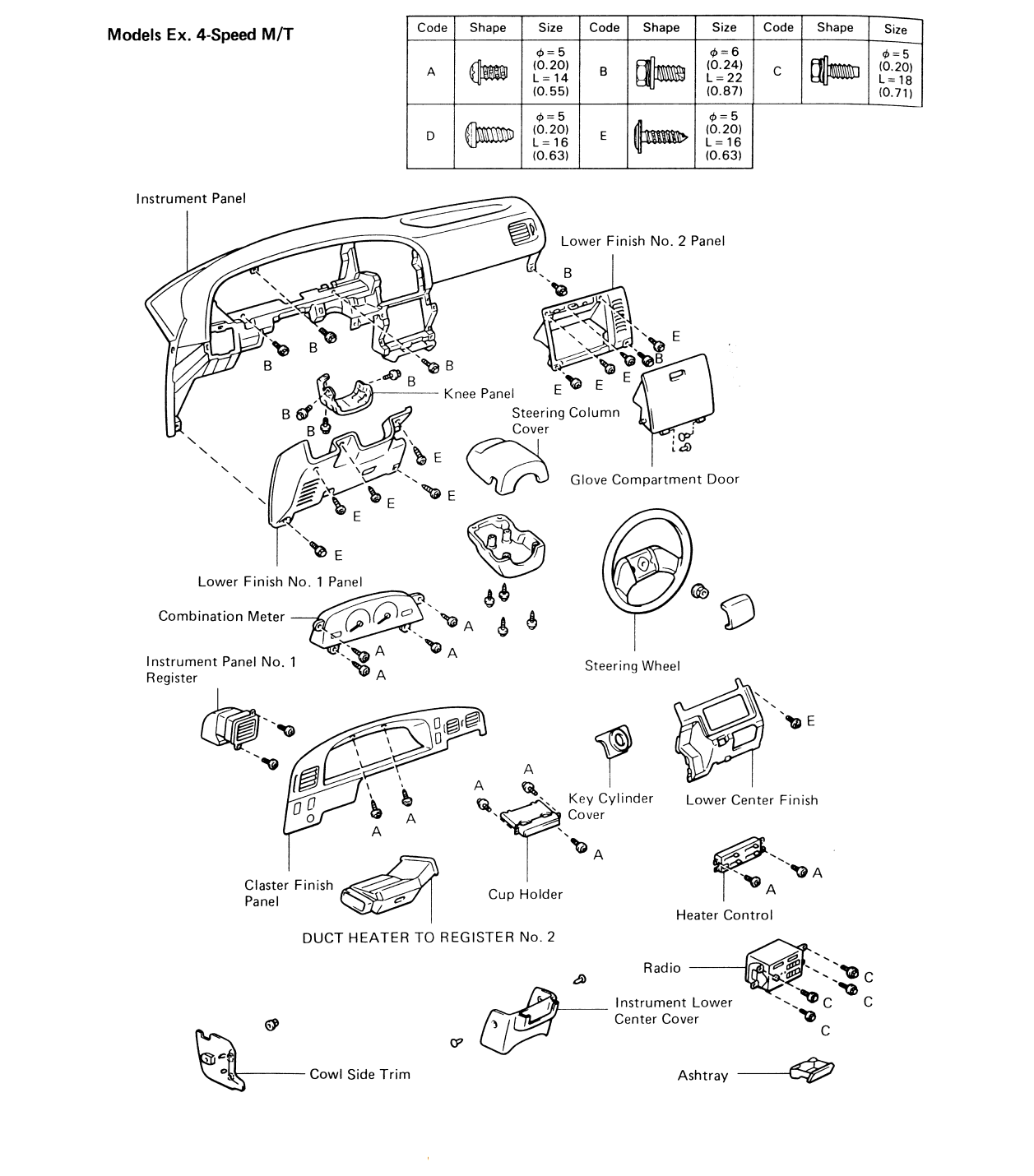 i need to r r the heater core on a 1995 toyota ta a do you have Toyota Tundra graphic