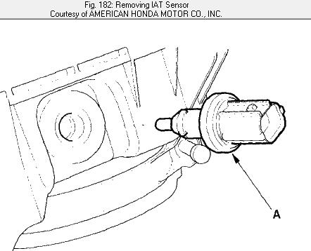 Where Is The Iat Sensor On A 2001 Honda Civic