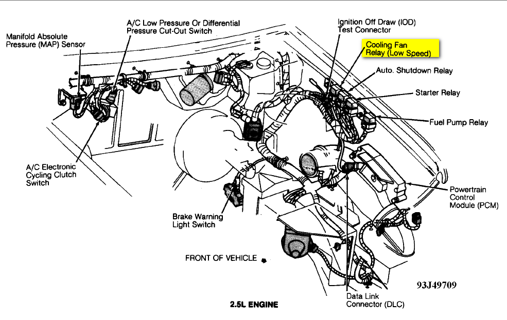1993 plymouth sundance wiring diagram