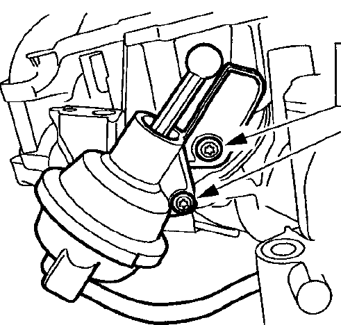 Where Is The Intake Runner Control Located On A 2003 Ford Focus Se