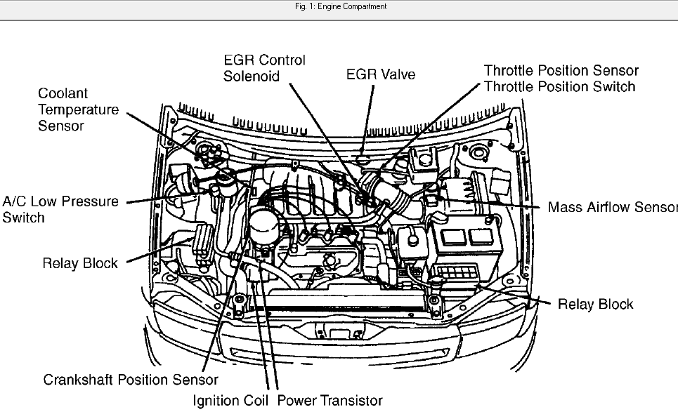 2000 altima engine diagram 2000 altima fuel pump relay