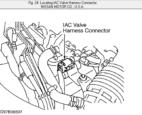 I Need To Change The Iac Valve On My 1997 Q45 Infiniti I Would Like