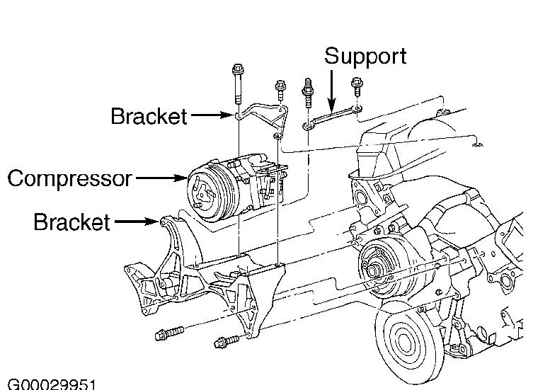C Compressor On 2001 Dodge