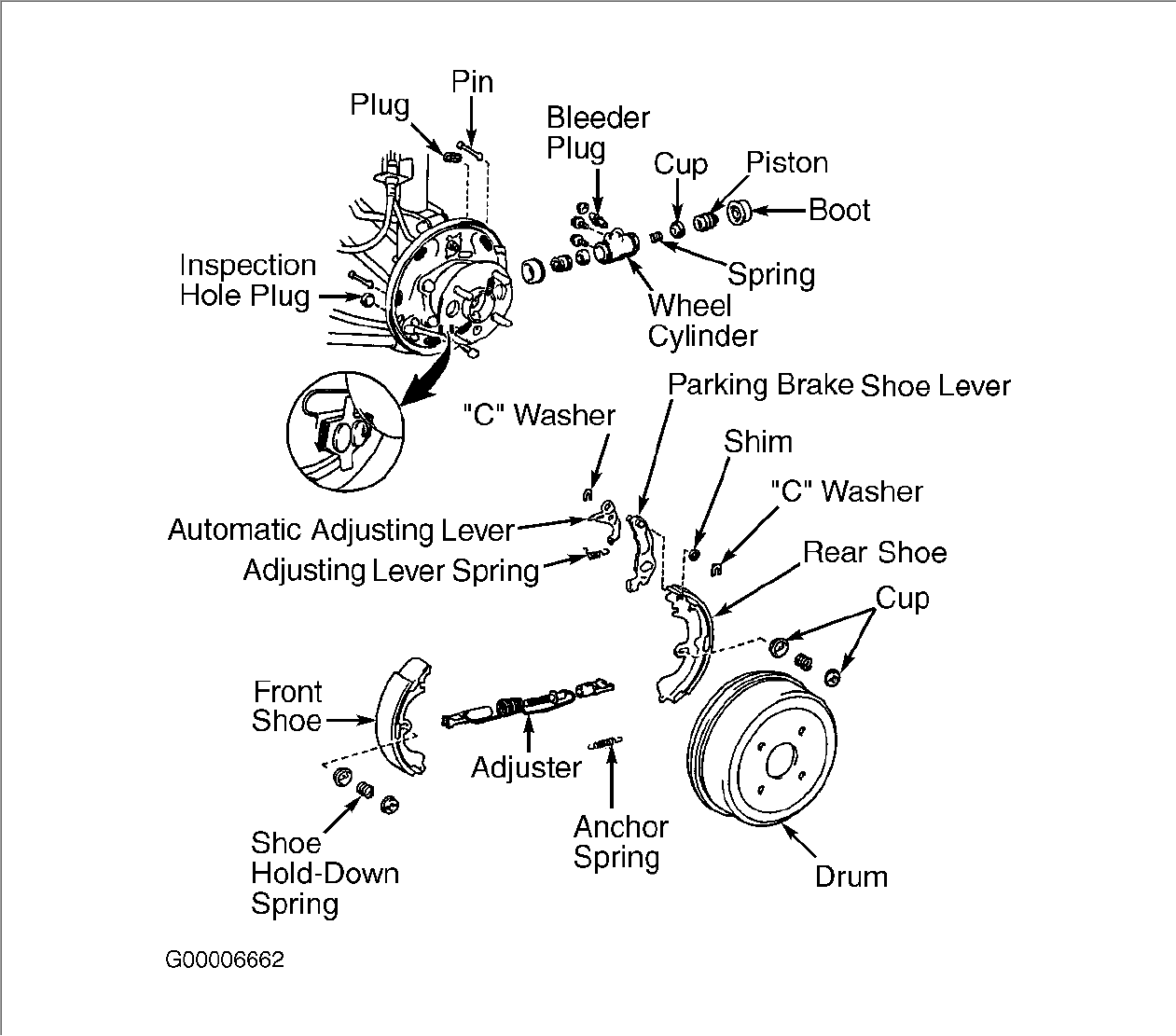 How Do You Change Rear Drum Brakes On A 2002 Toyota Celica 2003 Engine Diagram Graphic