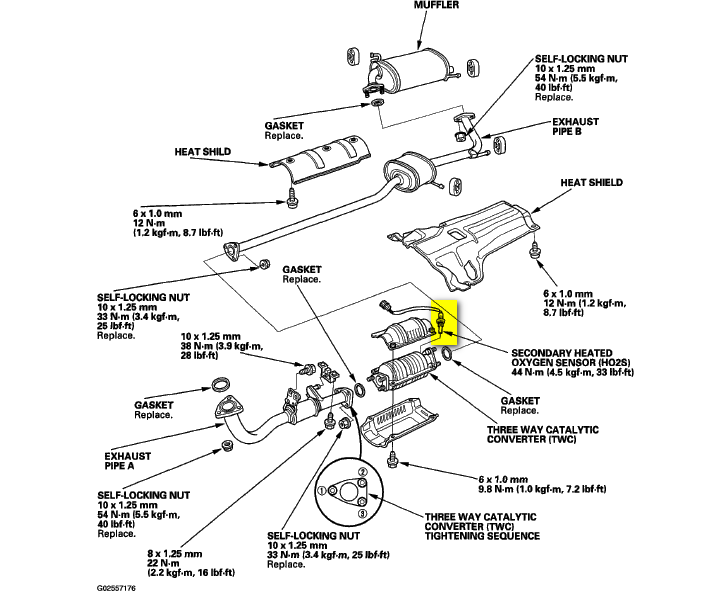 how do i replace a oxygen sensor for a 2001 honda accord 4 cyl  lx 4dr  sedan