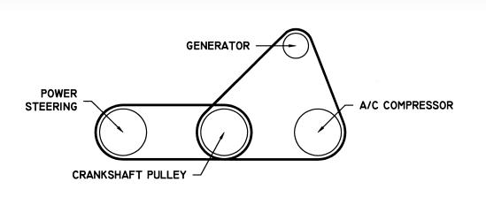 2000 Toyota Corolla Serpentine Belt Diagram