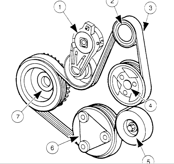 7 2 ford 460 belt diagram html