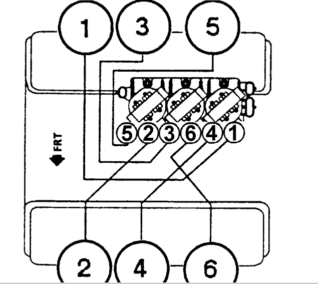 Show A  U0026quot Wiring U0026quot  Diagram Of The Firing Sequence On A 1997