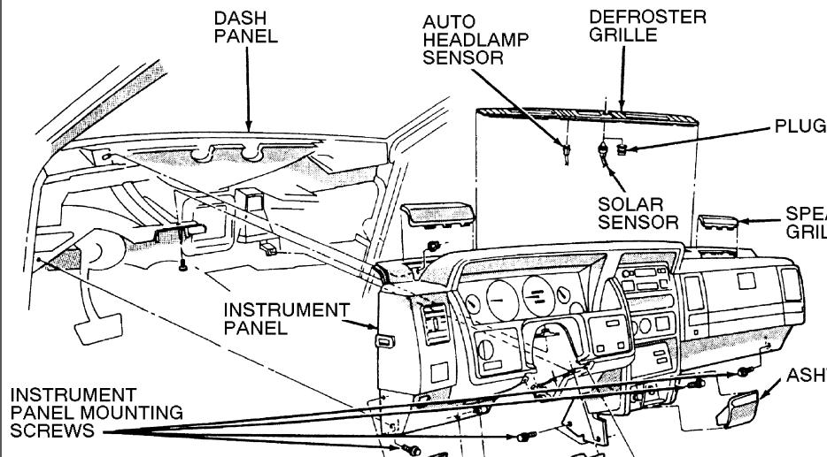 on 1998 Dodge Ram 3500 Heater Core