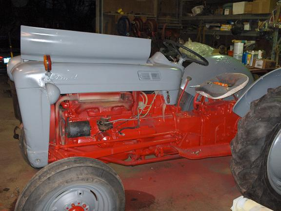 I have a 1952 Ford 8N tractor that has run well for a time