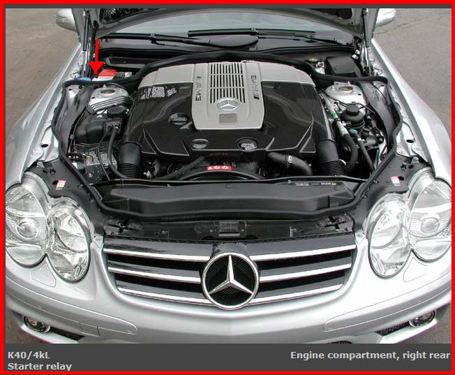I have a 2003 mercedes benz sl500 with starting problems for Mercedes benz starter battery