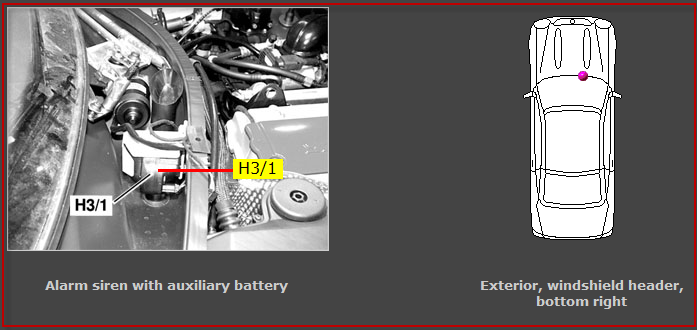 My 2000 Slk230 Alarm Horn Is Not Working Only The Flashing