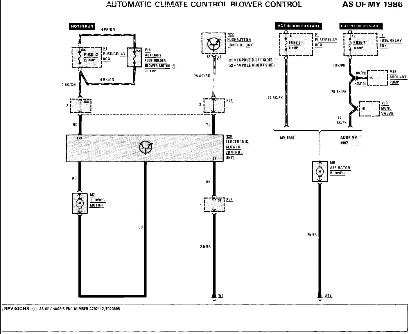 i have a 1992 300d turbo. my heater and a/c blower has ... 300d wiring diagram 1987 mercedes 300d alternator wiring diagram #10