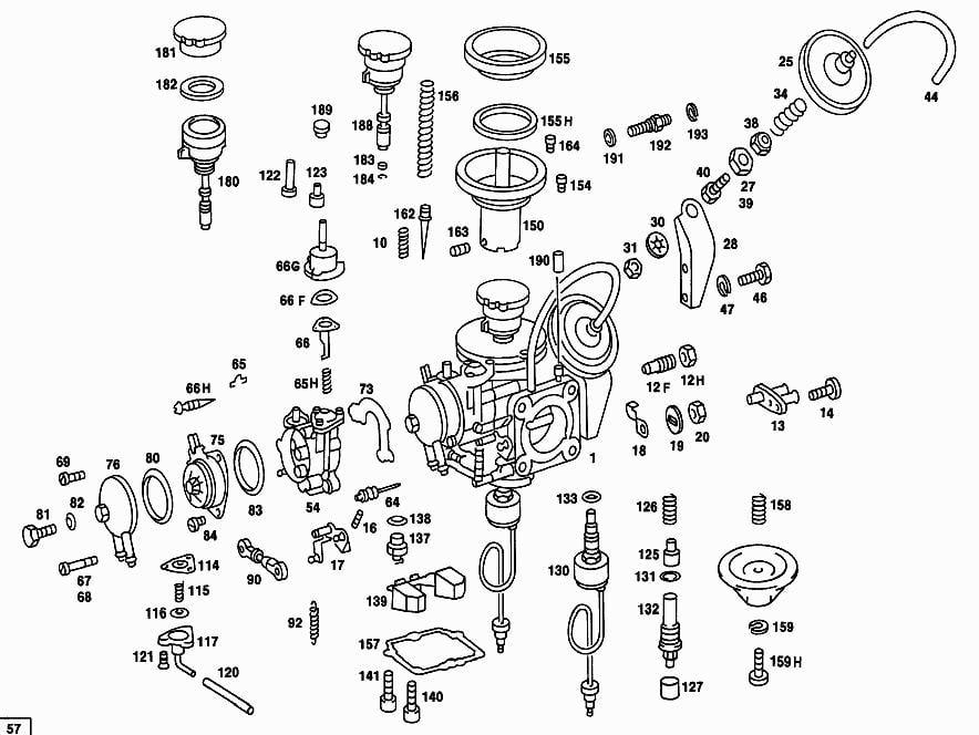 Pz340 Tedder Tooth Rh besides TM 55 4920 384 13 P0219 together with Zenith 14185 Carburetor likewise Porsche 356 Wiring Diagram likewise Farmall Carburetor Adjustment. on zenith carburetors diagrams