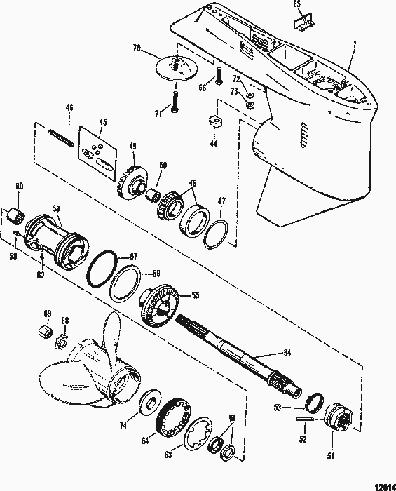 Radiator as well 1s5m0 1999 Chevy Tahoe Wiring Diagram Downloadable So additionally Mercury Outboard Water Pump Diagram also Mercury Outboard Parts Drawing 50 55 60 Hp 2 Stroke together with 4 3 Vortec Cam Sensor. on yamaha water pump replacement