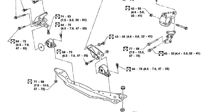 im trying to replace a mount on a 99 altima. its not considered the