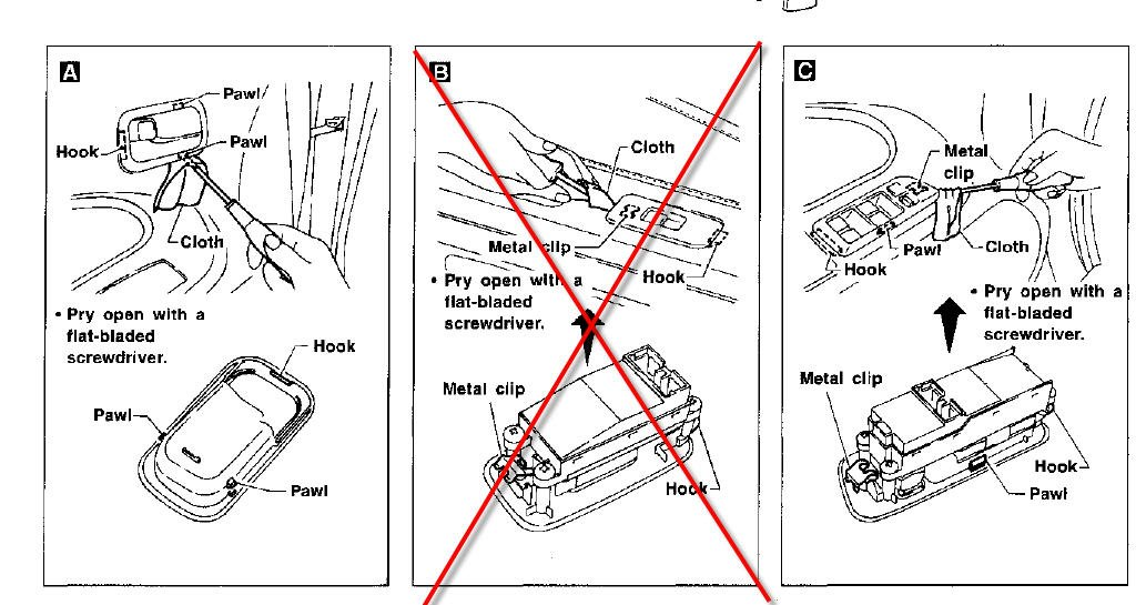 service manual  diagrams to remove 2005 nissan altima