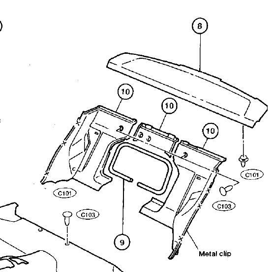 I Want To Replace The Rear Factory Speakers On A 98 Nissan 200sx