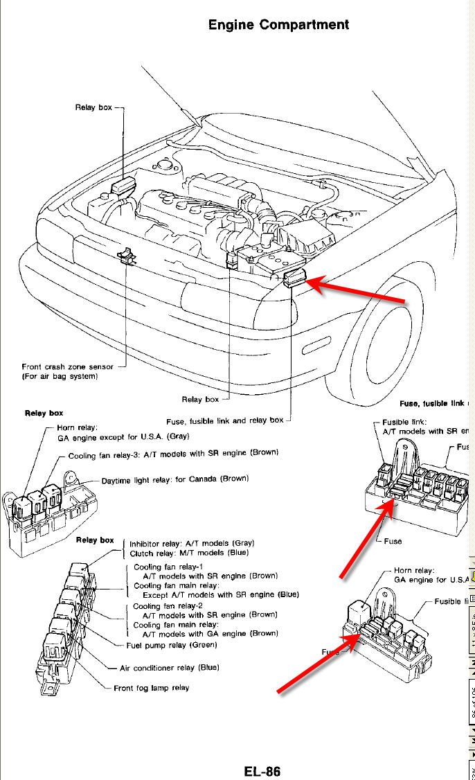 1994 nissan sentra wiring diagram   33 wiring diagram images