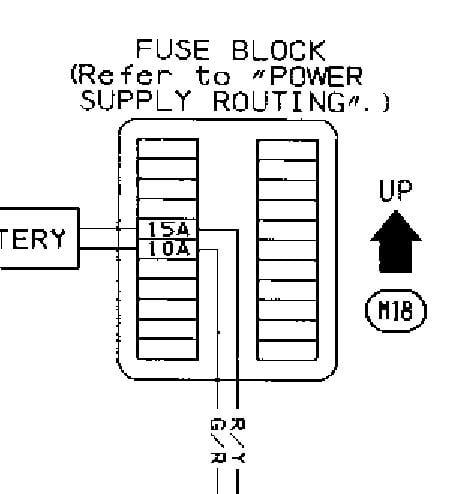 94 sentra fuse diagram search for wiring diagrams u2022 rh stephenpoon co Nissan Sentra 2000 Nissan Sentra