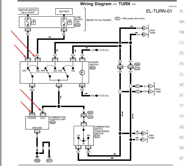 heater relay wiring diagram freightliner tail light