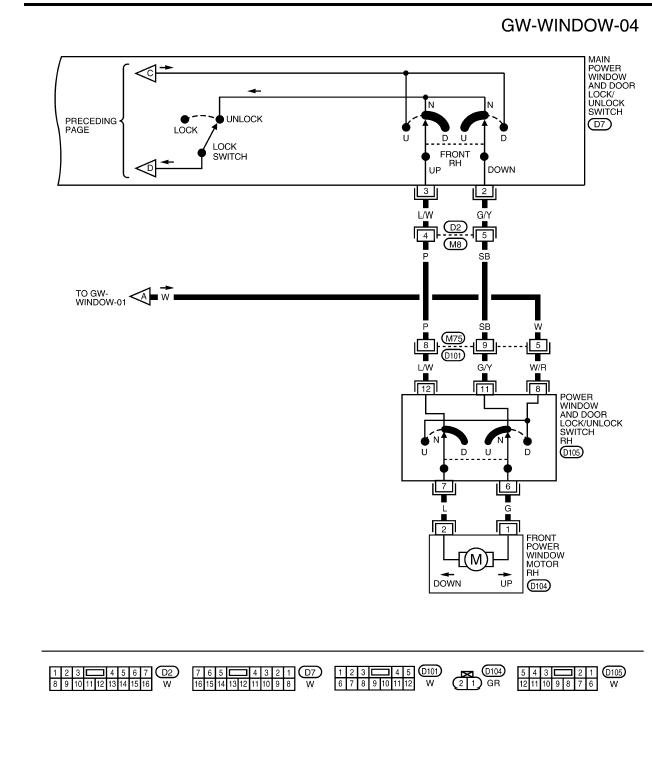 I need the    wiring       diagram    for the window switch for a 2006 nissan    frontier